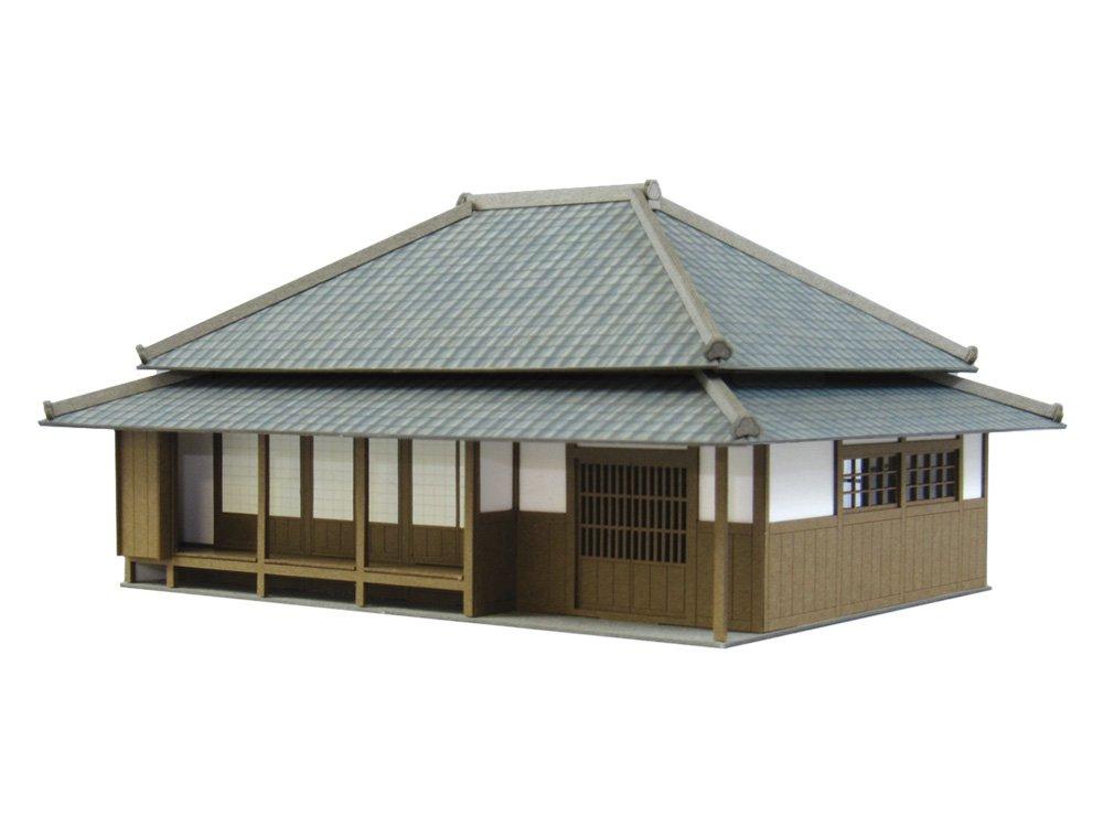 1:87 Szene Minka Series 2 (Papiermodelle Kit)