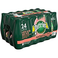 24-Count Perrier Pink Grapefruit Carbonated Mineral Water, 16.9 fl oz.