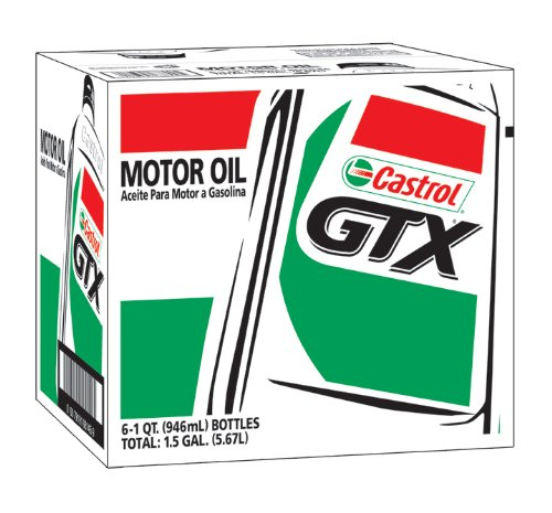 Amazon.com: Castrol 6144 GTX ULTRACLEAN 5W-30 Motor Oil, 1 Quart, 6 Pack: Automotive