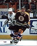 Bruins Ray Bourque Signed 8X10 Photo Vs Wayne Gretzky #W24600 - PSA/DNA Certified - Autographed NHL Photos