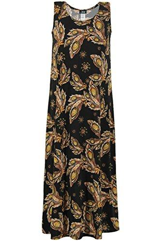 Jostar Womens Stretchy Long Dress Short Sleeve Plus