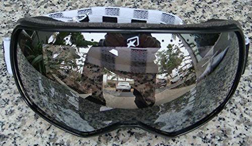 ULTIMATE MOTORCYCLE GOGGLES for Harley Davidson Sportster Softail Dyna Road King Electra Tour Street Hydra Super Wide Glide Fat Boy V-Rod ()