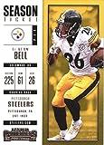 Football NFL 2017 Contenders Season Ticket #47 Le'Veon Bell Steelers