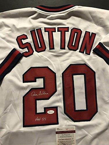 Autographed/Signed Don Sutton