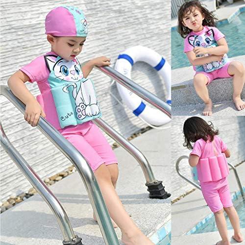子供水着 幼児用 水着 高浮力 キッズ 水泳服 漫画スタイル フローティング水着 筋肉 協調 全3種類