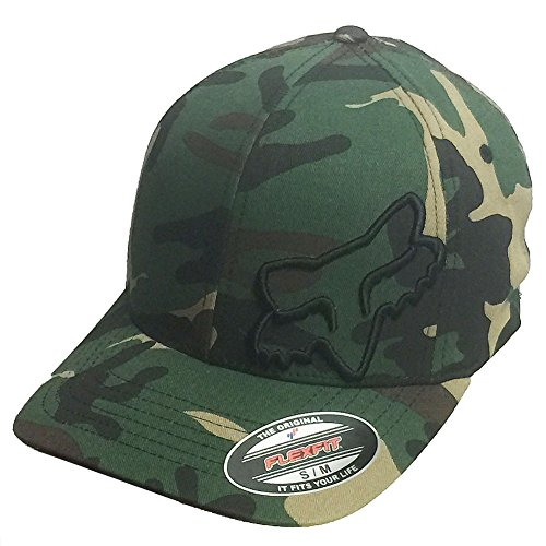 Fox Racing Men's Flex 45 Flexfit Hat Camo - Racing Fox Hat Print