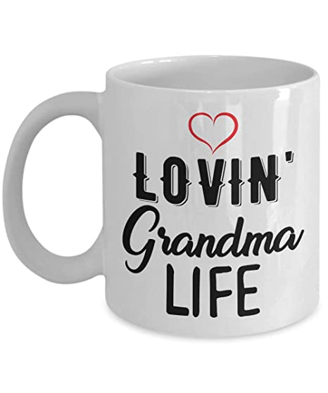 Funny Grandma Mug à Café Lovin Grandma Vie Cadeau Pour Grand