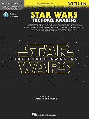 Star Wars: The Force Awakens: Violin (Instrumental Play Along)