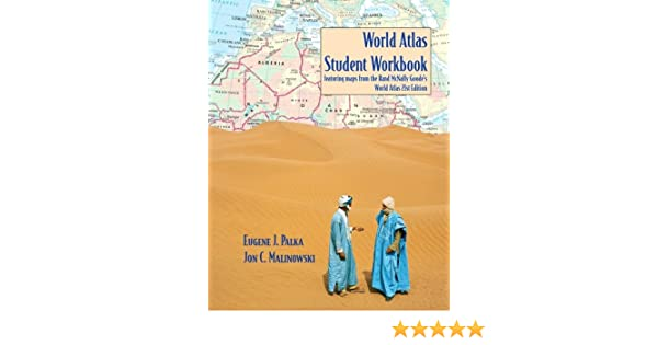 Workbook continents for kids worksheets : World Atlas Student Workbook Featuring Maps from the Rand McNally ...