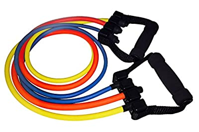 Quality Resistance Bands - Single And Adjustable Handles - Sold Individually or as Bundle