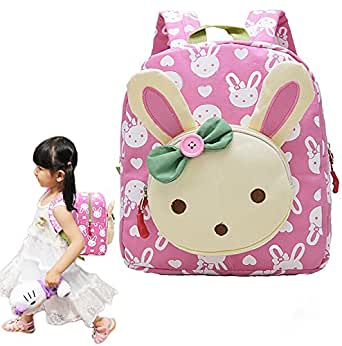 KidsBackpack,BabyBoysGirlsToddlerCherioll Children PreSchool Backpacks(Pink)