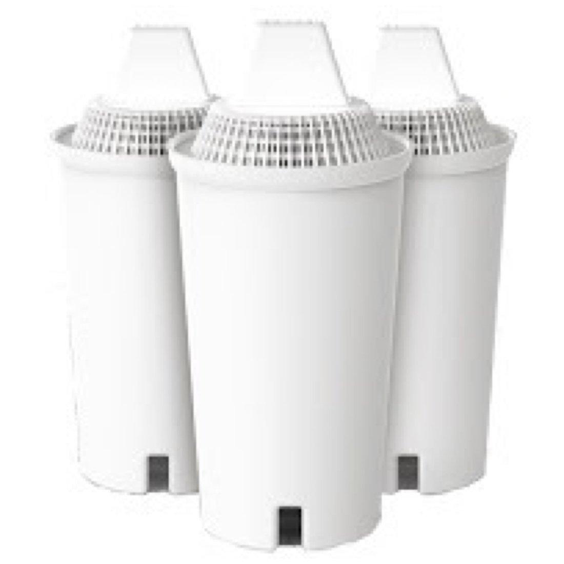 Alkapitcher Brand Alkaline Water Pitcher Filter 3 Pack Replacement - For Alkapitcher Brand Only.