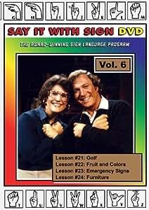 Sign Language Course - Vol. 6