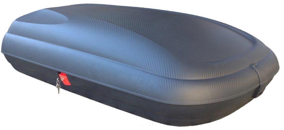 VDPCA320 320Ltr Coffre de Toit Aspect Carbone Barres de Toit compatibles avec Opel Zafira C Tourer /à partir de 11 Rails