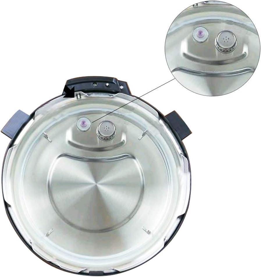 ManLee Float Valve Gaskets for Instant Pot Parts Replacement Float Valve 6 Pcs Float Valve Seal Pressure Cooker Float Sealing Caps Float Valve Compatible with Instant Pot Duo 3 5 6 8 Quart Duo Plus