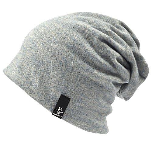 Hombre Grey Punto para de Light N010 Gorro Ruphedy 1RZgFF