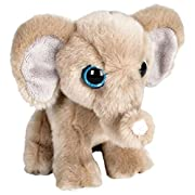 Wildlife Tree 7  Stuffed Elephant Plush Floppy Animal Heirloom Collection