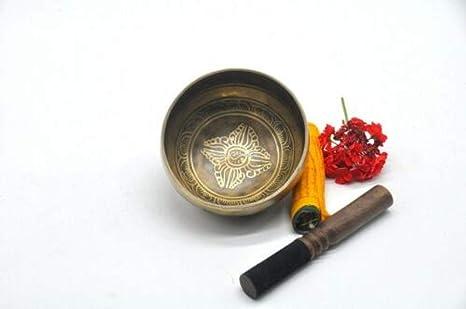 Cuenco tibetano tallado cuenco himalaya cuenco tibetano ...