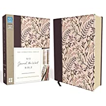 NIV, Journal the Word Bible, Cloth over Board, Pink Floral: Reflect, Journal, or Create Art Next to Your Favorite Verses