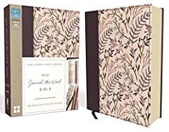 The NIV Journal the WordTM Bible allows you to creatively express yourself every day with plenty of room for notes or verse art journaling next to your treasured verses. With unique and sophisticated covers, this single-column edition feature...