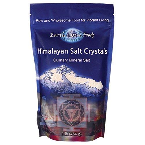 1 Lb Salt (Earth Circle Organics Himalayan Salt Crystals 1 lb)