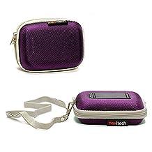 Navitech Purple Hard Protective Watch / Wristband Case for Garmin Vivoactive GPS Smart Watch