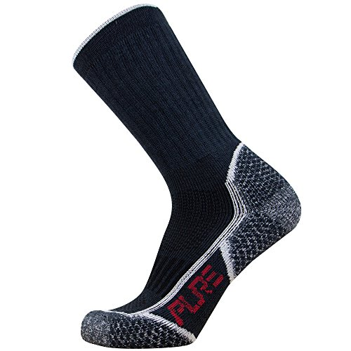 Hiking Socks - Silver Ion Technology - Moisture Wicking O...