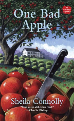 An Orchard Mystery: One Bad Apple 1 by Sheila Connolly (2008, Paperback)