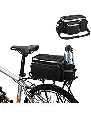 BicycleStore Trunk Bag Bike Panniers Waterproof Cycling Bag Rack 7L Rear Seat Bags Bicycle Accessories Black