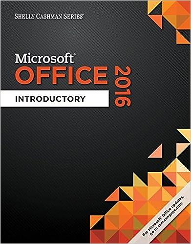 Shelly Cashman Series Microsoft Office 365 2016 Introductory Spiral Bound Version Misty E Vermaat Steven M Freund Corinne Hoisington