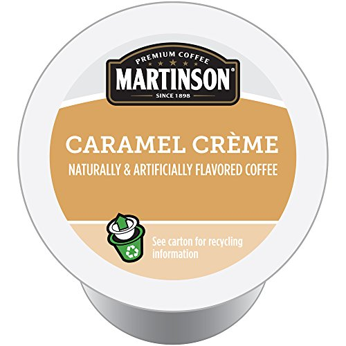 Martinson Joe's Coffee, Caramel Creme, 24 Single Serve RealCups