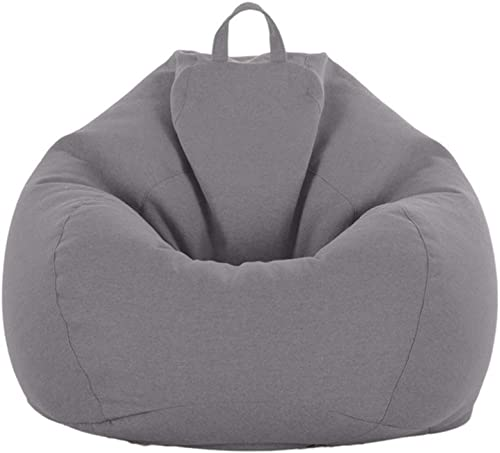 QBABY Stuffed Animal Storage Bean Bag Chair Cover Large No Filler