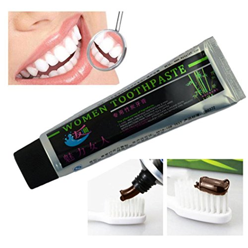 Hunputa Black Bamboo Charcoal Toothpaste Activated Charcoal Toothpaste Health Fresher Breath Whitening Toothpaste
