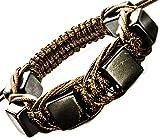 Shungite Bracelet Cubic Beads Genuine Shungites Brown