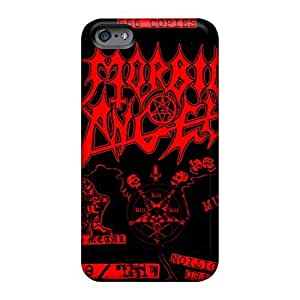 Shock-Absorbing Hard Cell-phone Case For Apple Iphone 6 (xOc6119JUXH) Unique Design Fashion Morbid Angel Band Image