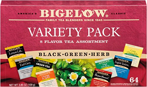 Bigelow Tea Fine Tea And Herb Tea Gift - 2 Pack (128 Tea Bags) 3.85 oz (Fine Herbs)