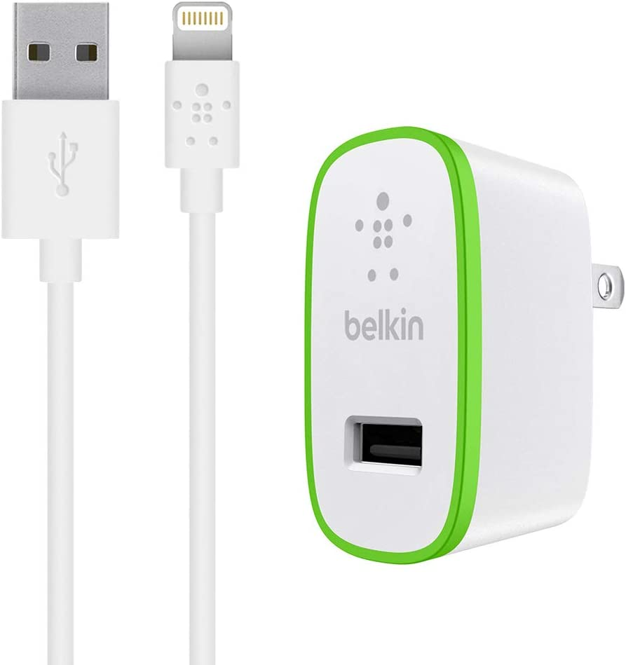 Amazon.com: Belkin - Cargador de pared para iPhone 7/Plus/6 ...