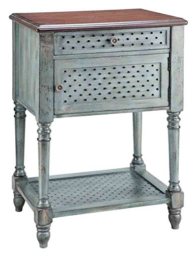 traditional-1-drawer-chairside-table
