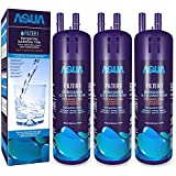 Aquasys Refrigerator Water Filter Compatible for Whirlpool W-10295370 W-10295370A Filter1 Kenmore 46-9930, 46-9081 (3 Pack)