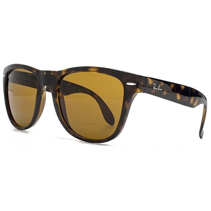 Ray-Ban de la tortuga de Brown B-15 de 54 mm PLEGABLE gafas ...