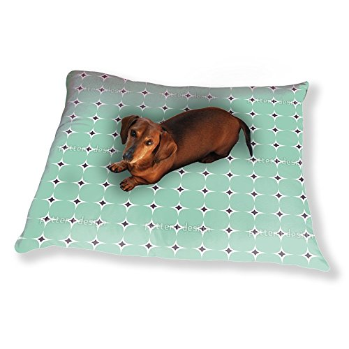 Luxury Dog Pillow (Rounded Square Dog Pillow Luxury Dog / Cat Pet Bed)