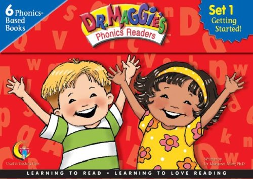 Dr Maggie's Phonics Readers, Set 1: Getting Started!