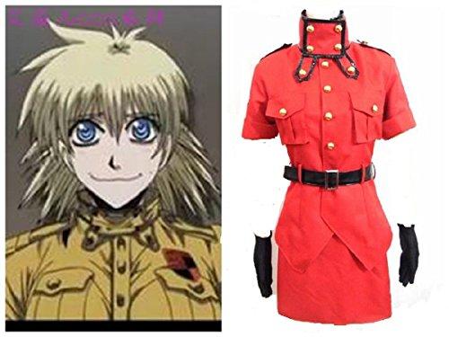 [Hell sing Hellsing Seras Victoria red ver cosplay costume] (Seras Cosplay Costume)
