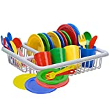 IQ Toys Incredibly Realistic Pretend Play Dish Set