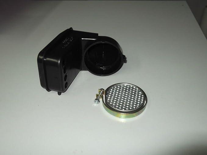 Purificador Filtro Aire Completo para Piaggio Vespa PK 50 Pk 50 xl ...