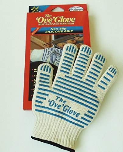 Ove Glove - 540ºF Hot Surface Handler - Blue Silicone Grip