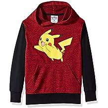 Pokemon Big Boys' Pikachu Pullover Hoodie