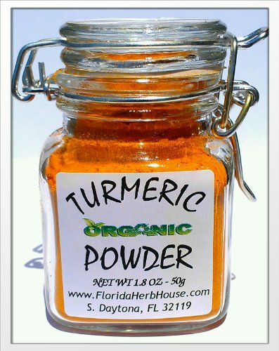 Fresh Ground Turmeric 1.8 oz. (50g) - Organic Eco Friendly Gifts! - Eco-Spices!