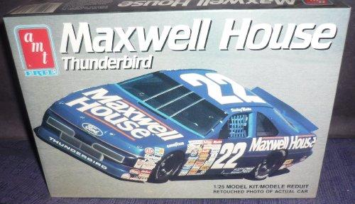 #6457 AMT/Ertl Sterling Marlin Maxwell House Thunderbird 1/25 Scale Plastic Model Kit
