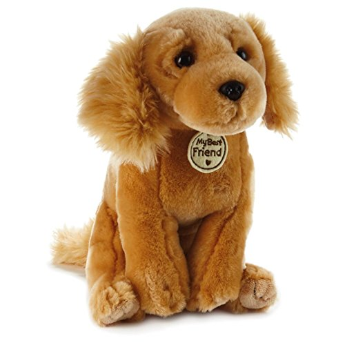 Hallmark My Best Friend Large Golden Retriever Dog Plush Stuffed Animal